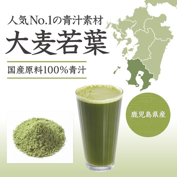 国産原料100%大麦若葉青汁タイトル